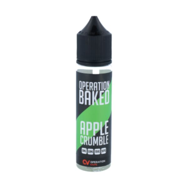 Operation Baked - Apple Crumble 50 ml - 0mg/ml