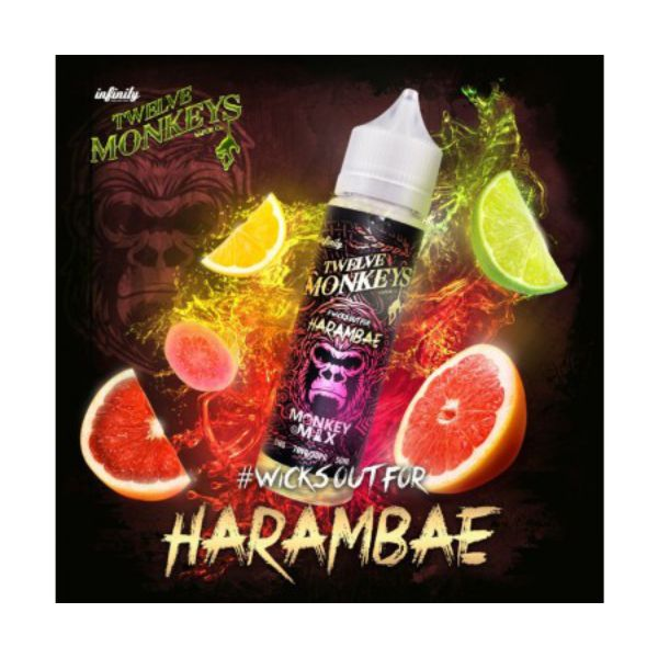 Twelve Monkeys - Harambae 50 ml - 0mg/ml