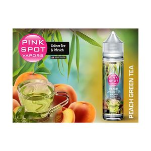 Pinkspot - Peach Green Tea 50 ml - 0mg/ml